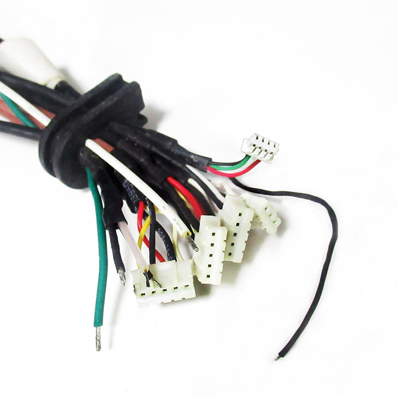 RCA female socket wire harness