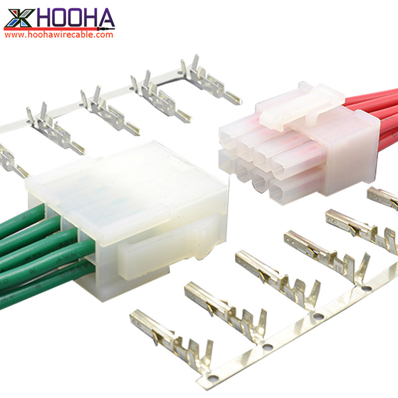 Molex 2.0/2.5/3.0/3.96/4.2/6.35 mm pitch connectors wire to wire