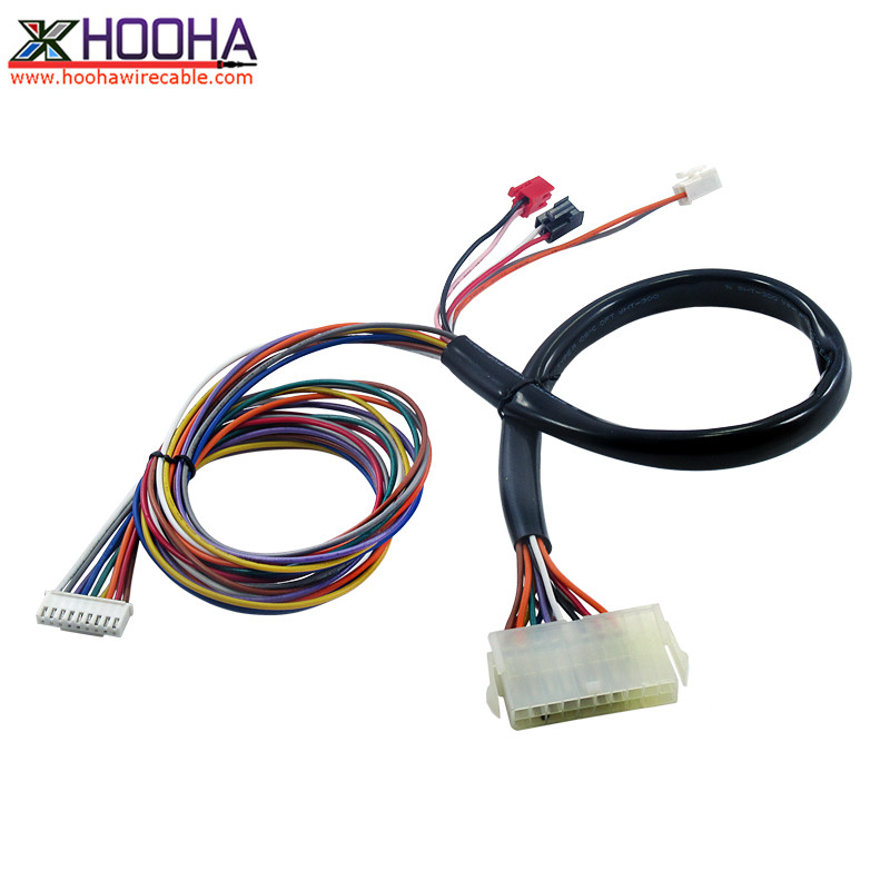 molex 3901-2201 original housing custom wire assembly
