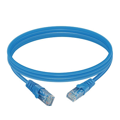RJ45 UTP Cat6 patch cord in communication cable