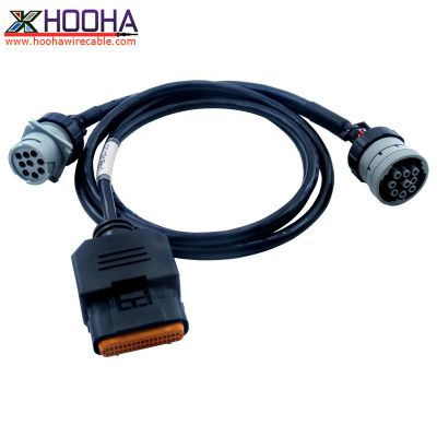 'Y' j1939 Dual CAN Cable