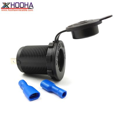 car charger socket 12V 24V cigarette lighter socket