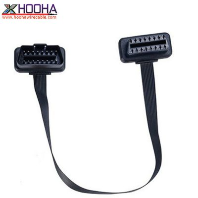 right angle OBD II flat cable