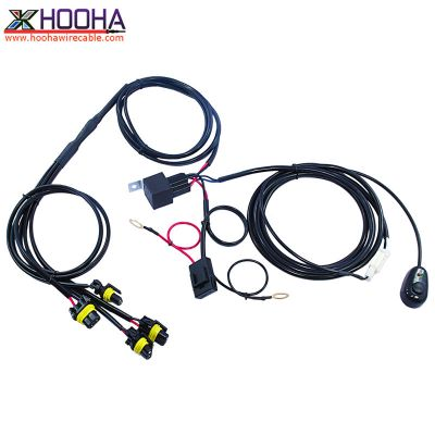Automotive Wire Harness,custom wire harness,LED light wire harness,ON-OFF Switch,OFF-Road