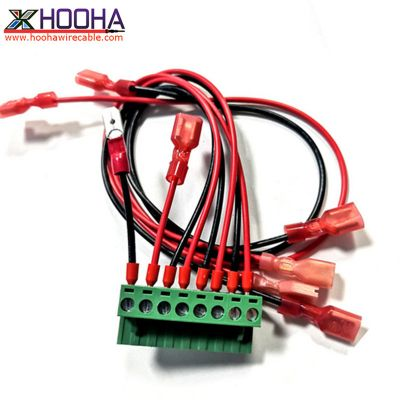 8pin terminal block wire harness assembly